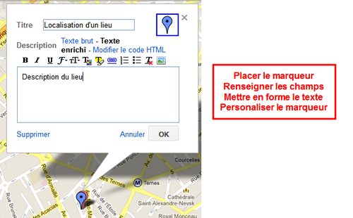 Tutoriel Google Maps Joomla - Placement de marqueurs